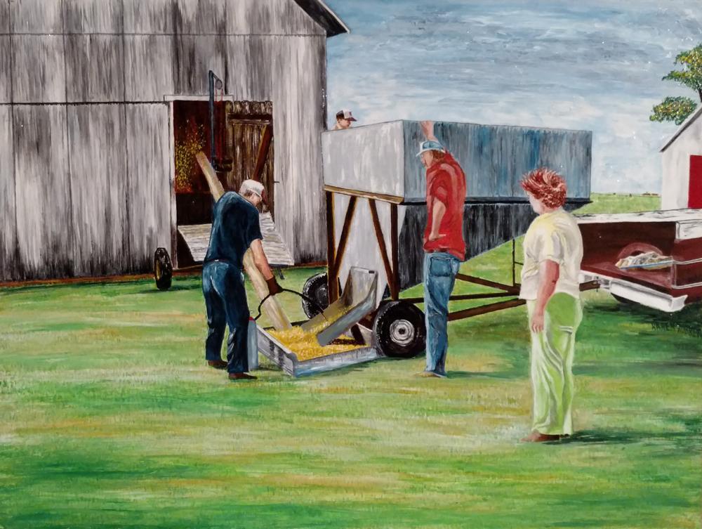farm, labor, work, barn, crop, farmer