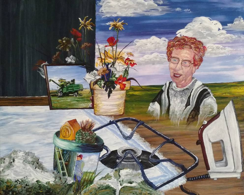 home, nostalgia, memories, farming, farm wife, floral, flowers